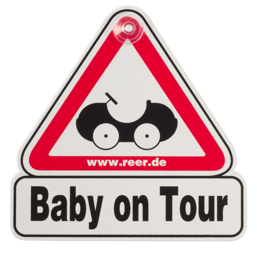 REER Bilskylt - Baby on Tour