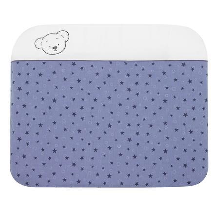 ALVI Potah na přebalovací podložku medvídek modrý