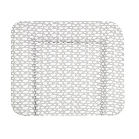 Alvi Přebalovací podložka Wiko Molly s povrchovou úpravou Wolke Voile stříbrná 70 x 85 cm