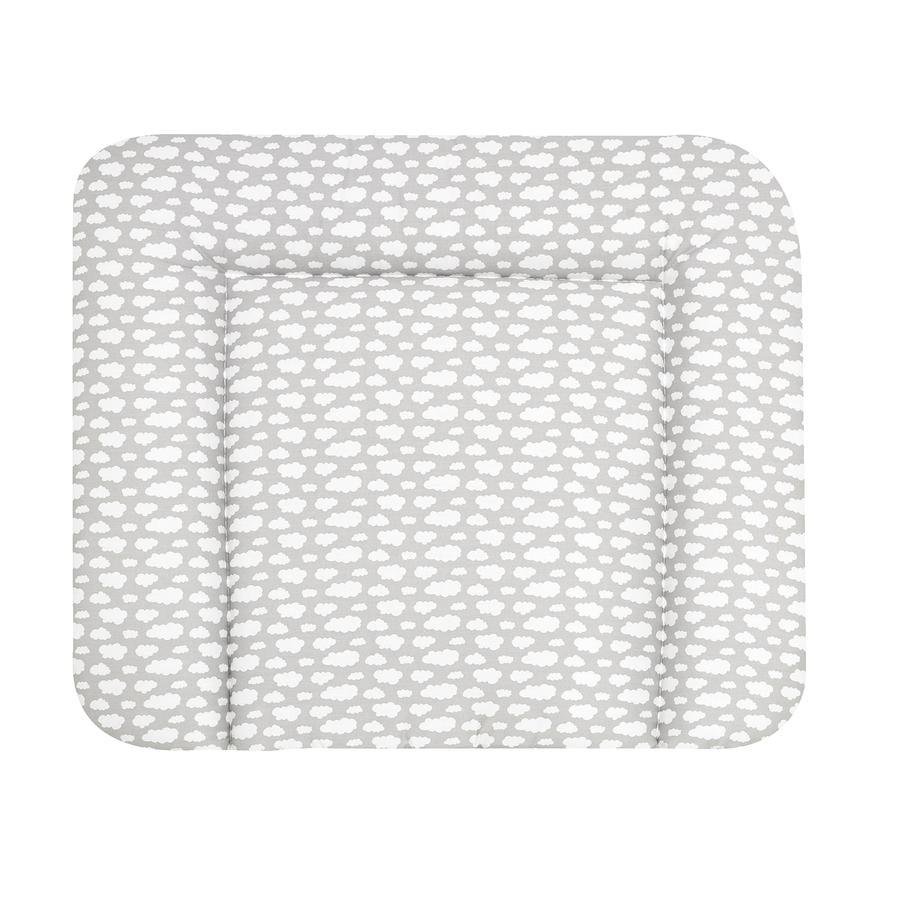 Alvi® Wickelauflage Wiko Molly beschichtet Wolke Voile silber 85 x 70 cm