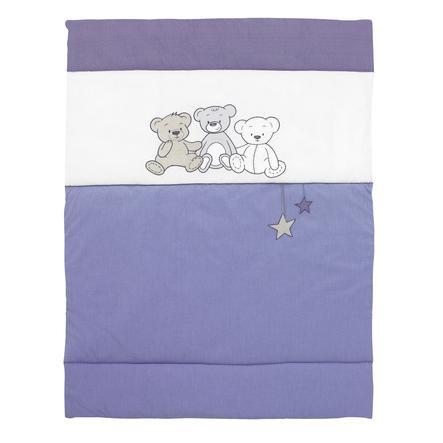 Alvi Krabbeldecke Bärenkinder blau 100x135 cm