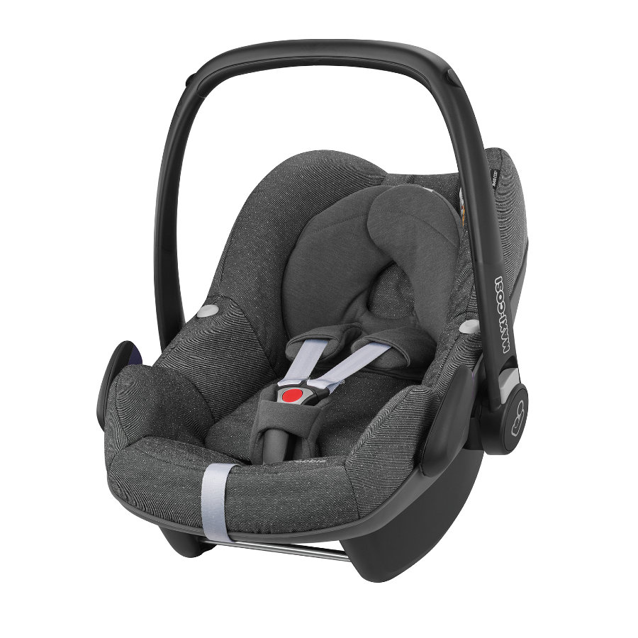 MAXI-COSI Autostoel/Reiswieg Pebble Sparkling grey