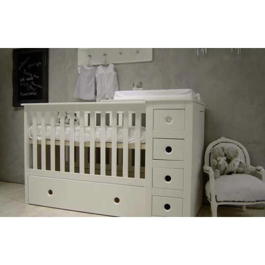 BISAL Kinderbett & Kommode Paso Doble, 60 x 120 cm
