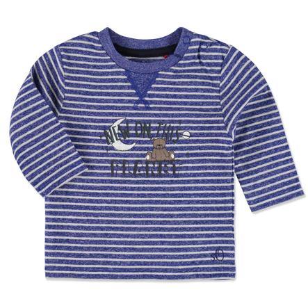 s.OLIVER Boys Baby Longsleeve blauwe strepen