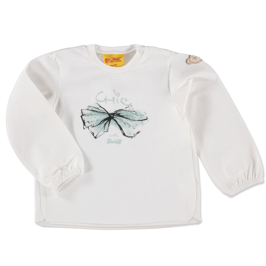 STEIFF Girls Mini Longsleeve cloud dancer
