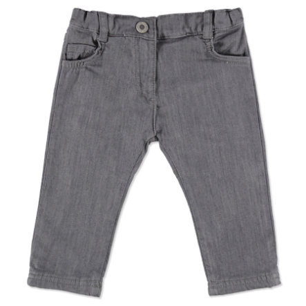 STEIFF Girls Mini Spodnie Jeasn grey denim