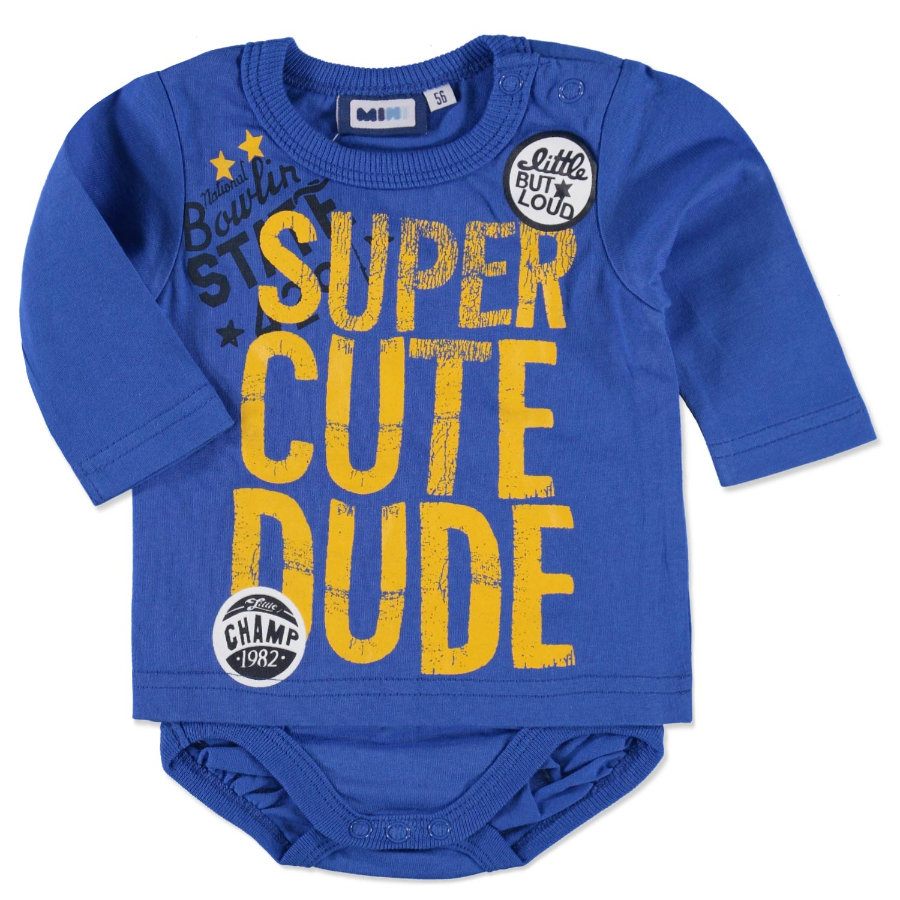 MAX COLLECTION Baby Longsleeve blau