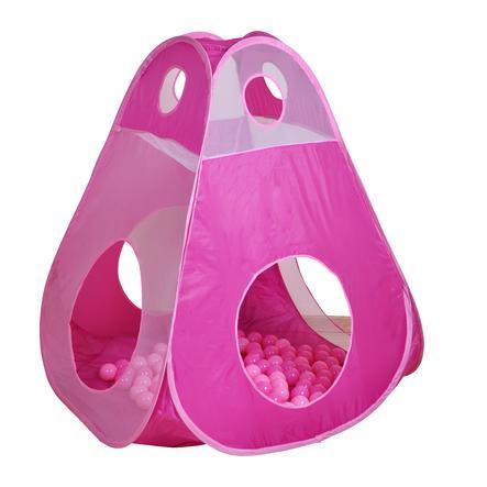 knorrtoys - Tenda  da gioco Brody Girl incl. 100 palline Ø6 cm