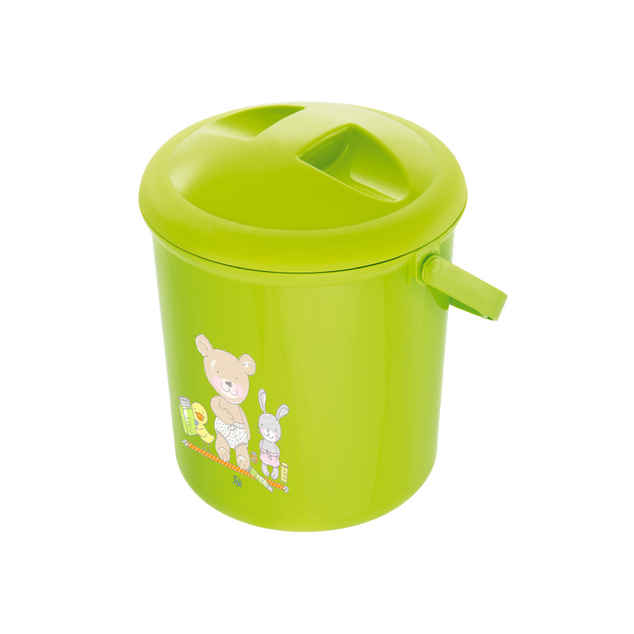 "Rotho Babydesign Windeleimer Bella Bambina ""Beste Freunde"" apple green"