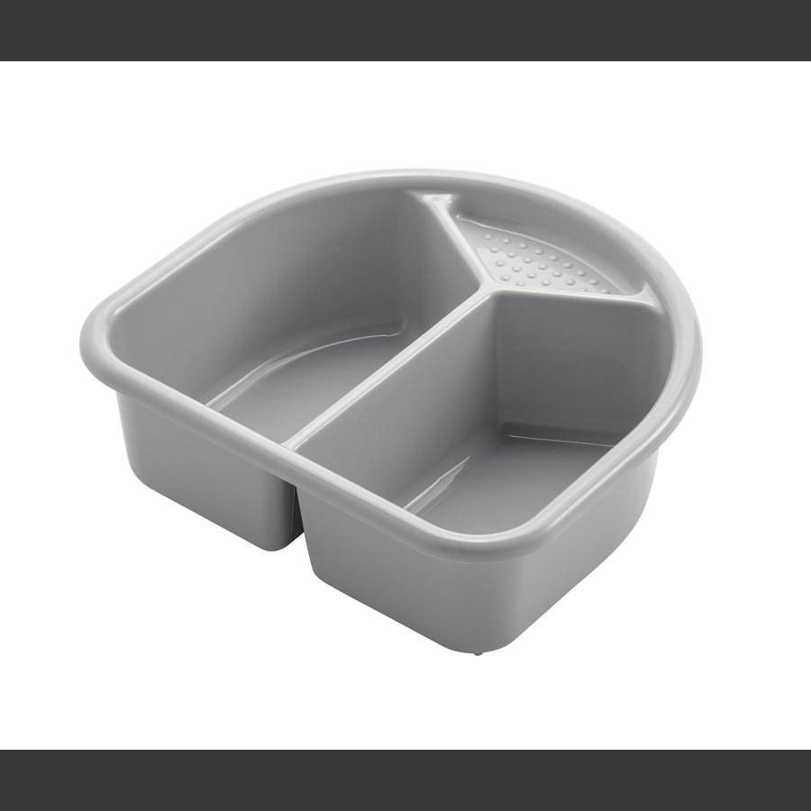 Rotho Babydesign Waschschüssel TOP silber grau