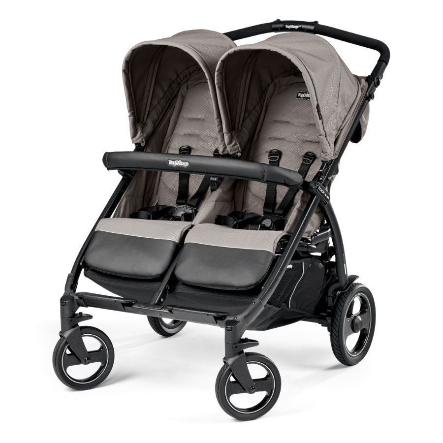 PEG-PEREGO Tvillingvagn Book For Two Mod Beige