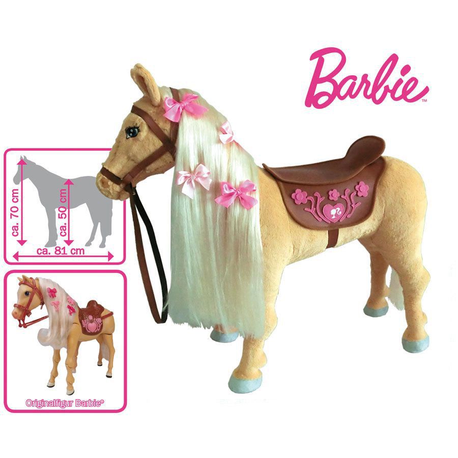 MATTEL Cheval de Barbie Tawny