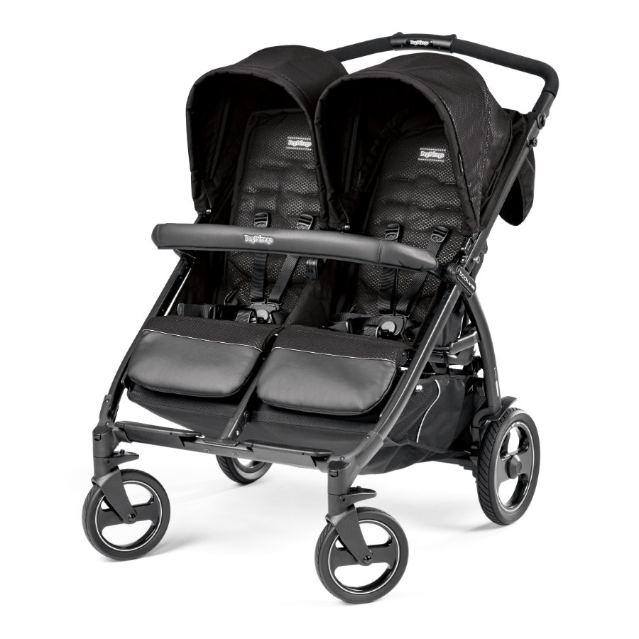 PEG-PEREGO Wózek Book For Two Mod Black