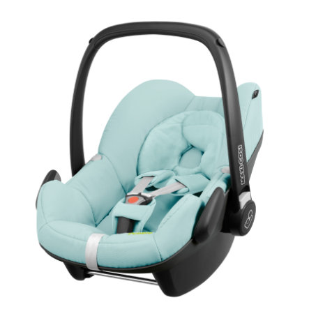 MAXI COSI Babyschale Pebble Blue Pastel (Q-design) Miami Limited Edition