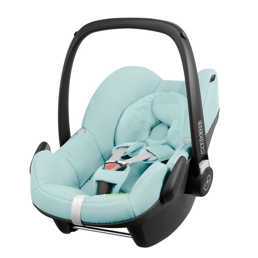 MAXI COSI Autostoel/Reiswieg Pebble Blue Pastel (Q design Miami) Limited Edition