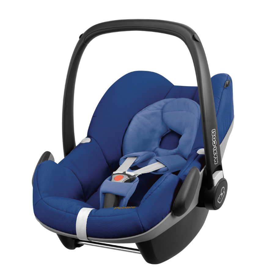 MAXI COSI Babyschale Pebble Blue base (Q-design)