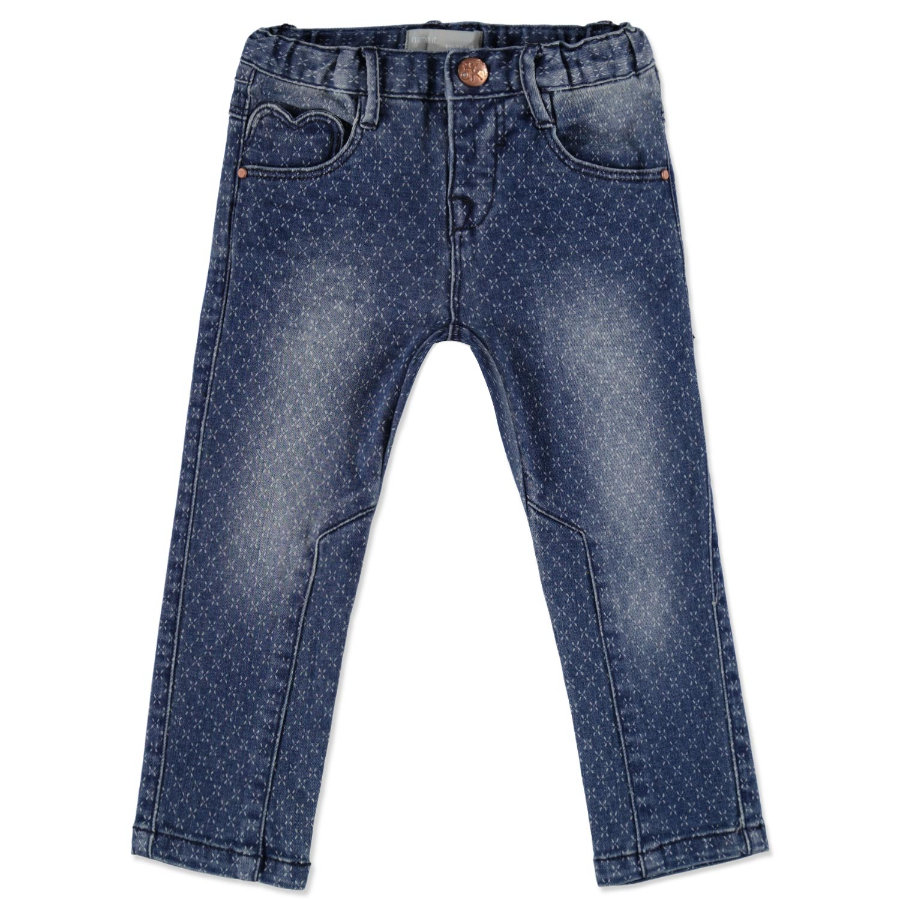 NAME IT Girls Mini Spodnie dżinsowe NITABIBBI dark denim