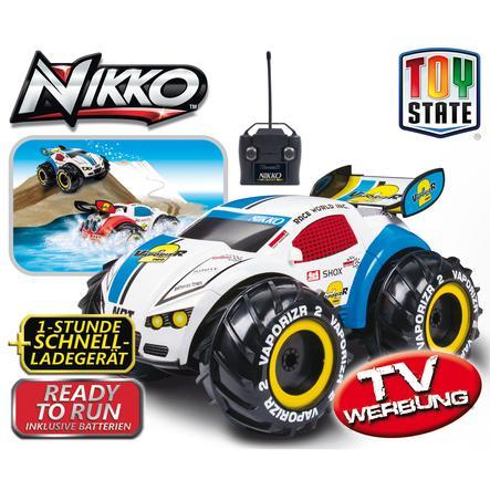 Nikko VaporizR, Radiostyrd bil, blå , 27MHz + 40MHz