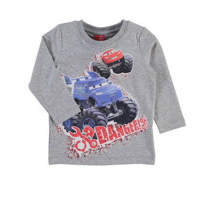 NAME IT Boys Mini Longsleeve NITCARS grey melange