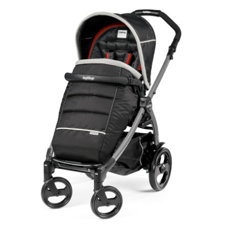 PEG-PEREGO Poussette sport Book 51 Completo Synergy - châssis 51 jet anthracite