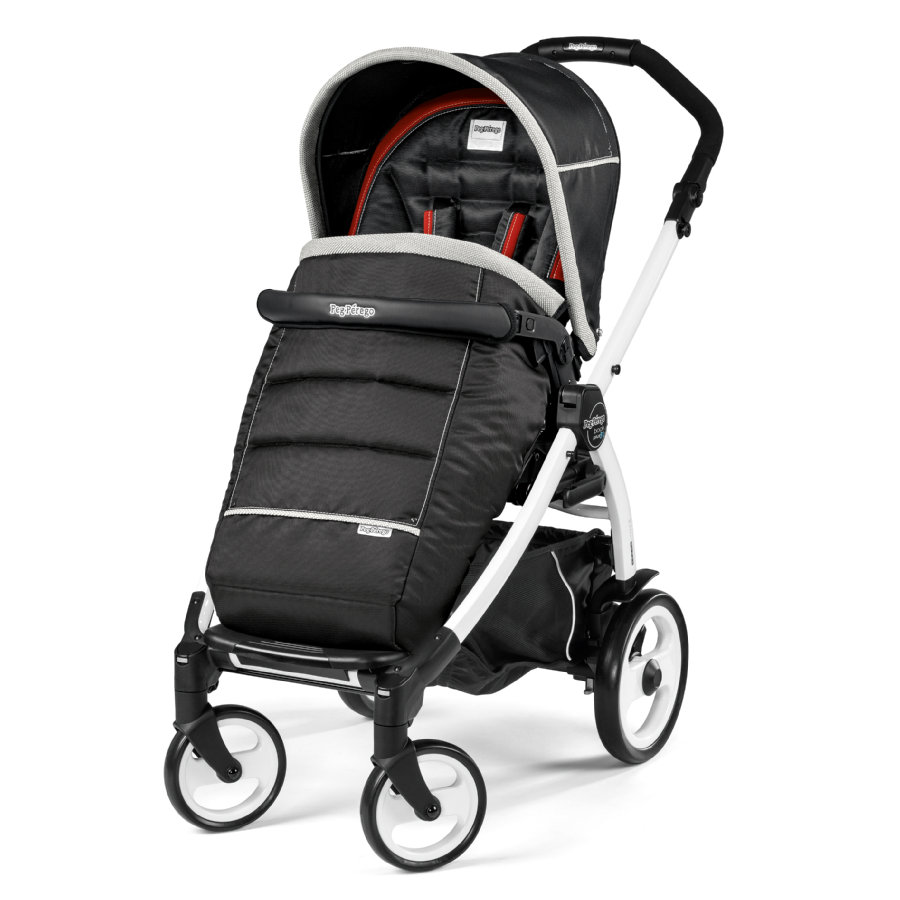 PEG-PEREGO Poussette sport Book 51 Completo Synergy - châssis 51 blanc