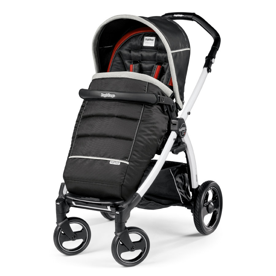 PEG-PEREGO Sportwagen Book S Completo Synergy - Gestell S weiß