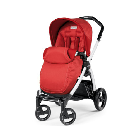 PEG-PEREGO Poussette sport Book S Completo Sunset - châssis S blanc