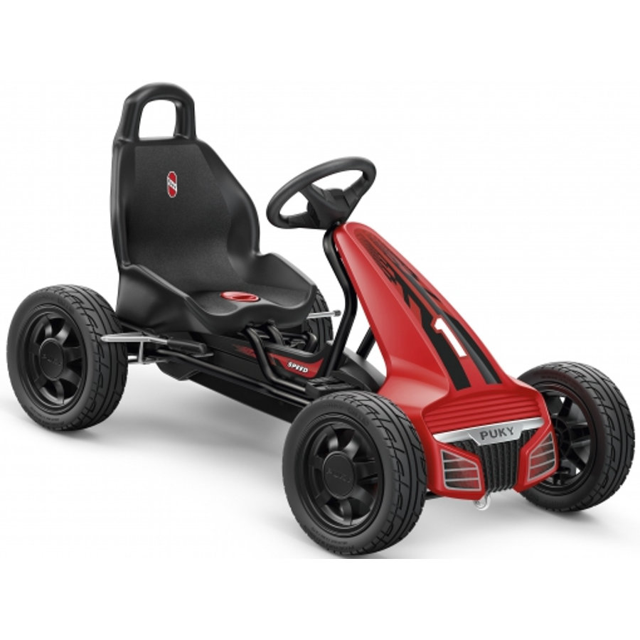 PUKY Go - Cart F 550 L, noir/rouge 3640