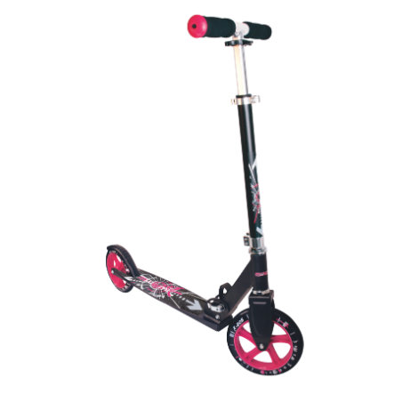 AUTHENTIC SPORTS Aluminium Sparkcykel Muuwmi STG 205mm, svart/rosa