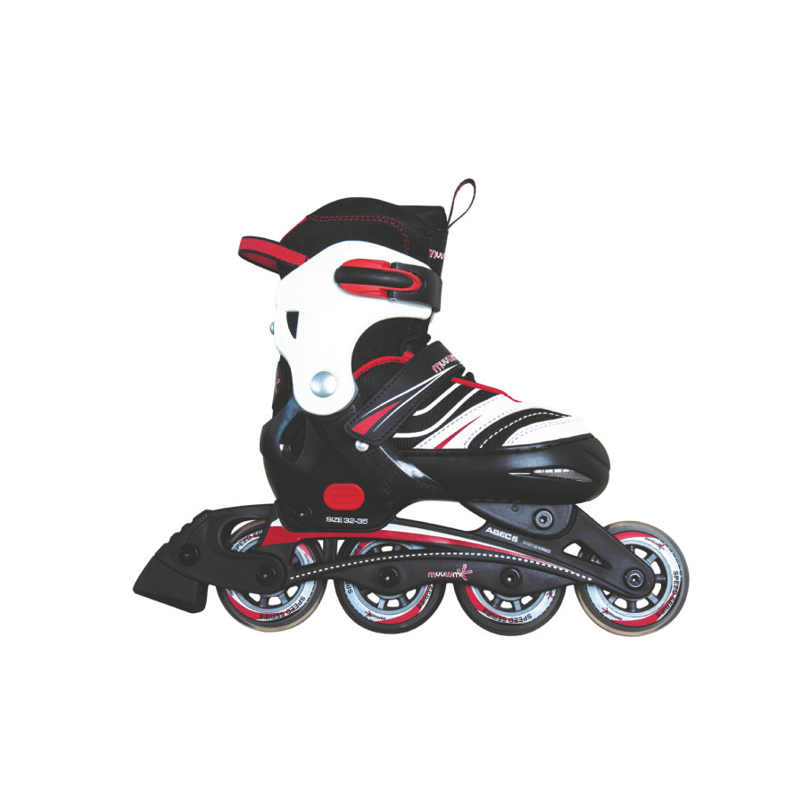 AUTHENTIC SPORTS Rollers enfant, ajustables, T. 37-40