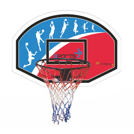 AUTHENTIC SPORTS Basketkorg 90 x 60 cm