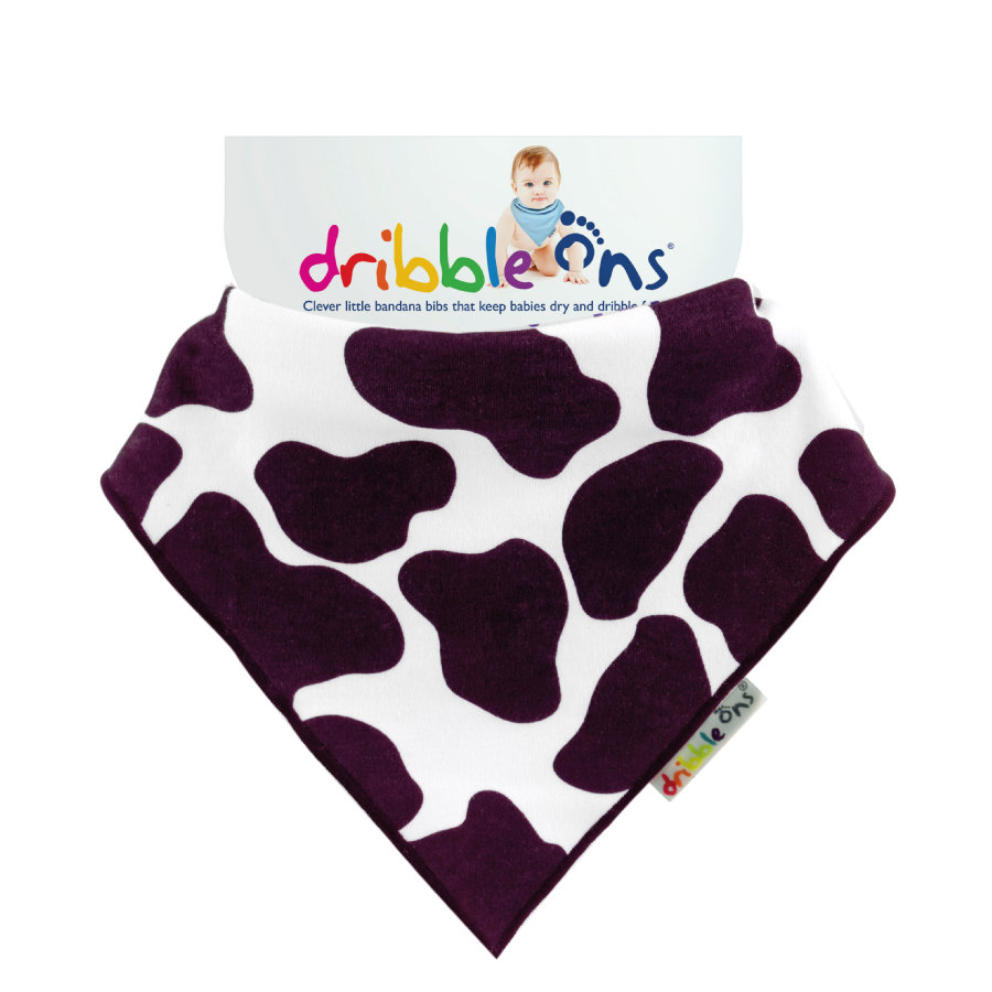 DRIBBLE ONS Halstuch Cow Print