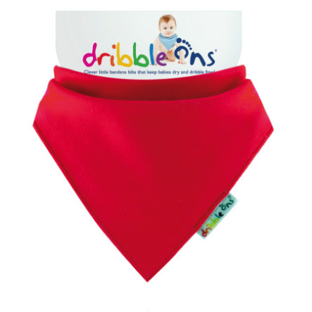 DRIBBLE ONS Halstuch Red