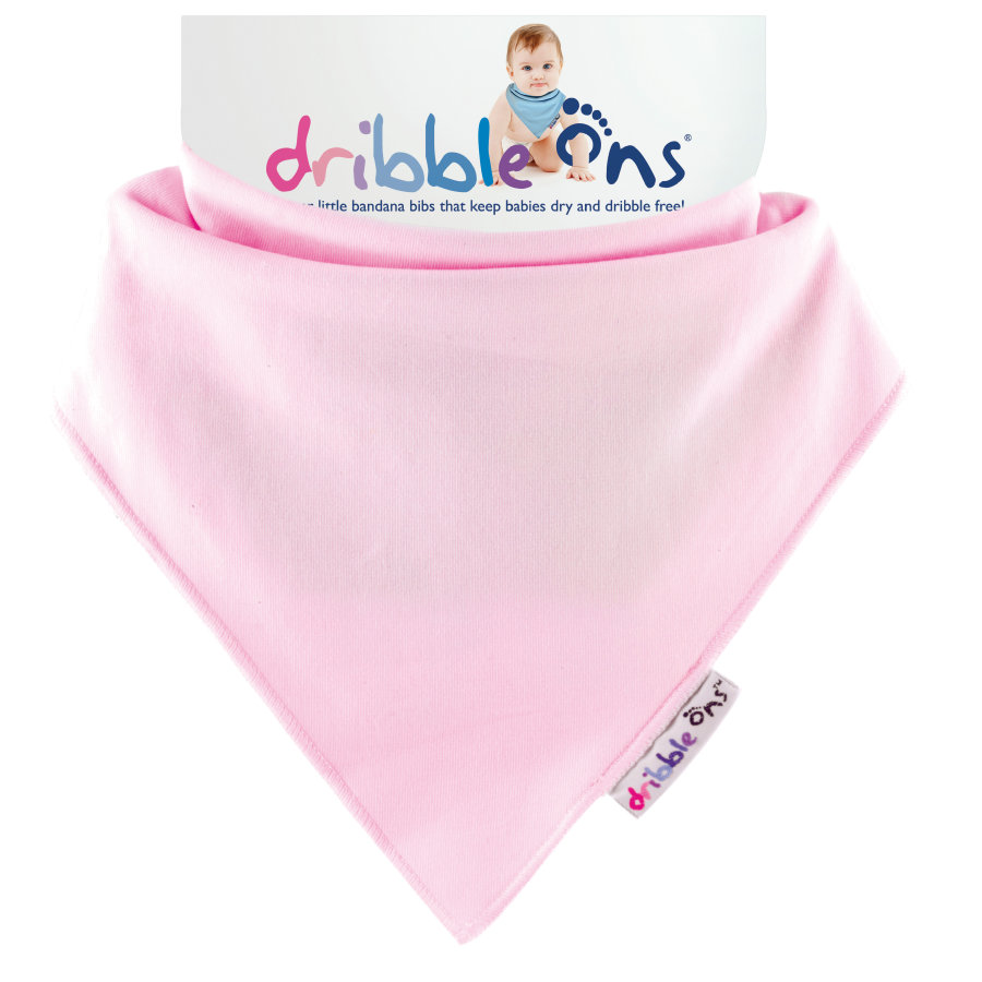 DRIBBLE ONS Halstuch Baby Pink