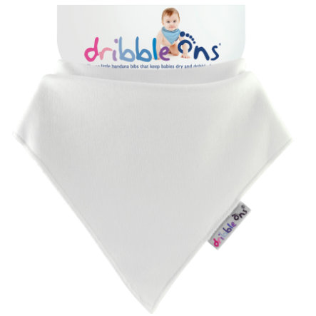 DRIBBLE ONS Halstuch White