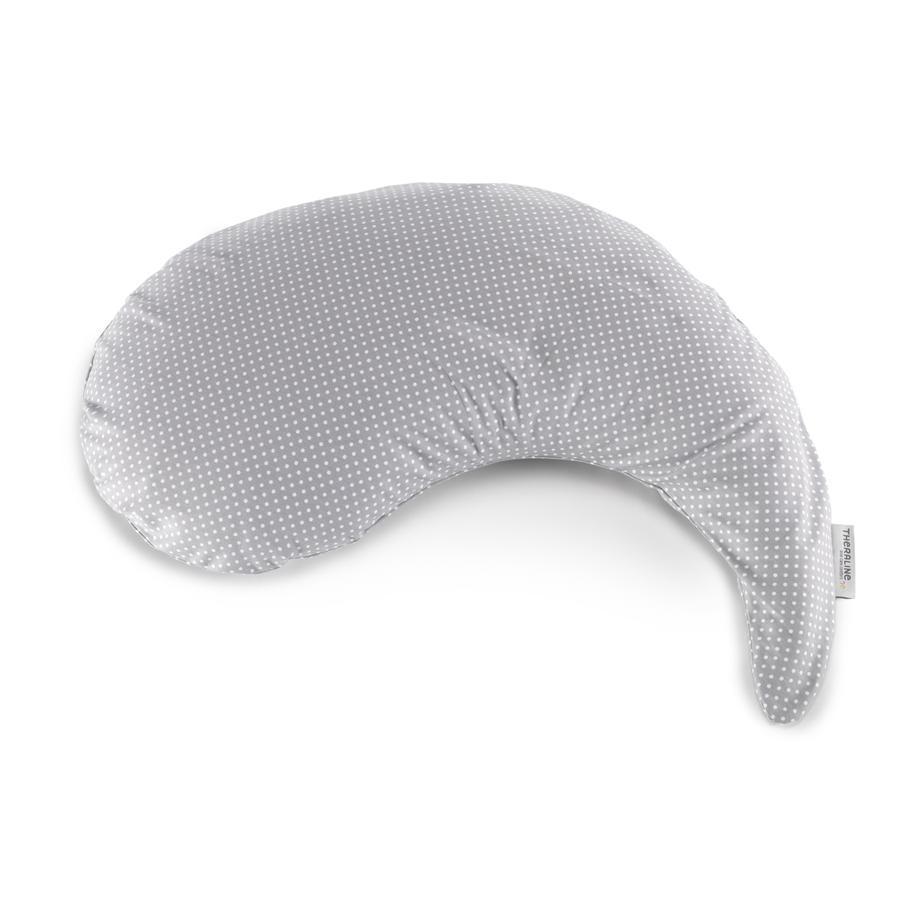 THERALINE Yinnie polštář včetně potahu - šedý s puntíky