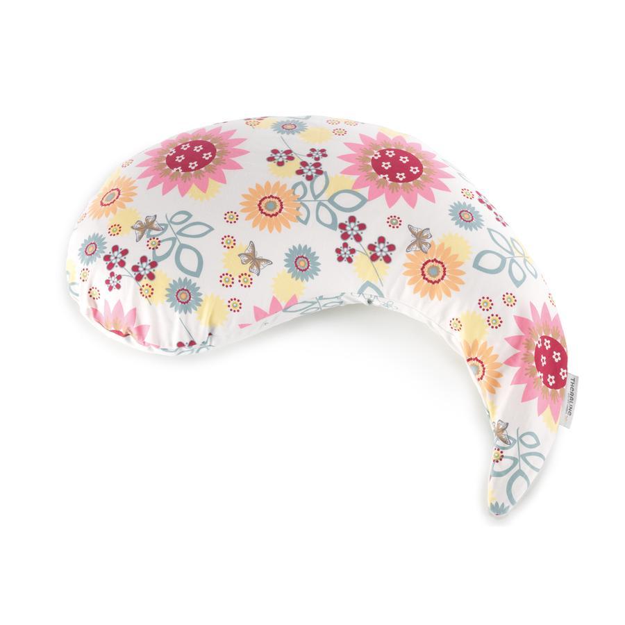 THERALINE Yinnie polštář včetně potahu - letní květy