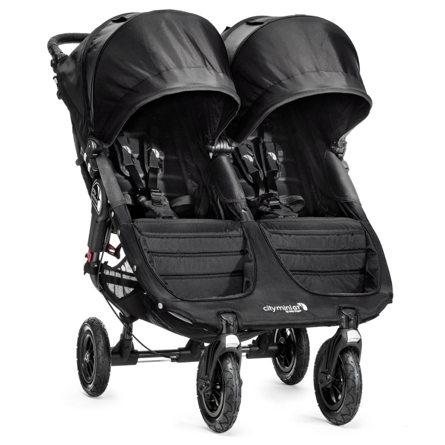 Baby Jogger Tvillingvagn City Mini GT Double black / black