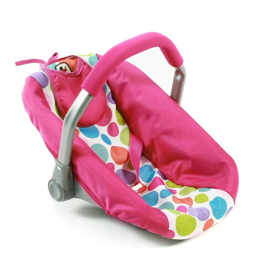 BAYER CHIC 2000 Fotelik samochodowy dla lalek - Pinky Bubbles