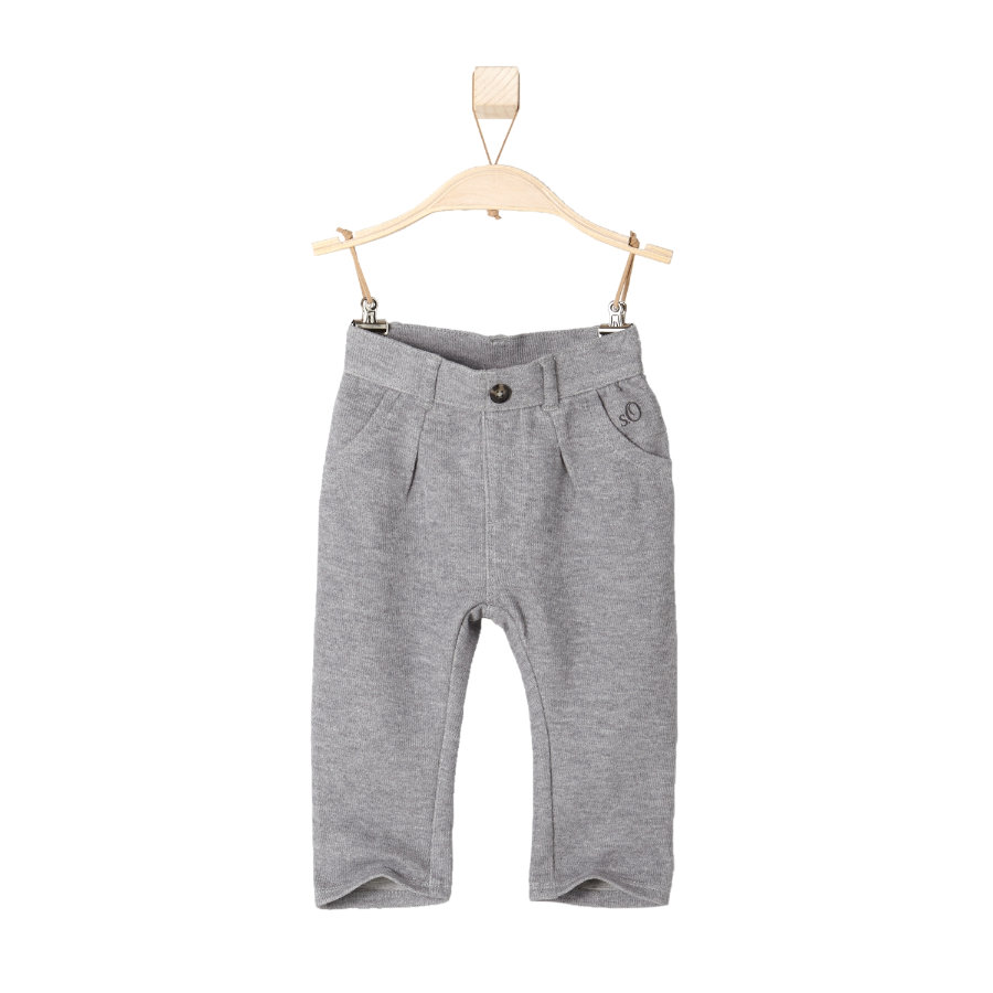 s.OLIVER Boys Mini Sweathose grey