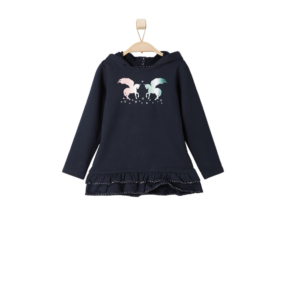 s.OLIVER Girls Mini Sweatshirt dark blue