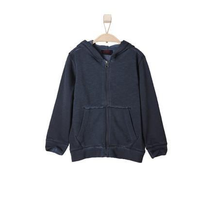 s.OLIVER Boys Mini Sweat Jacket donkerblauw