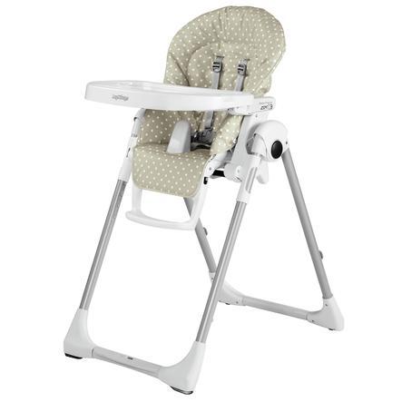 Peg-Perego Chaise haute bébé Prima Pappa Zero3 Babydot beige