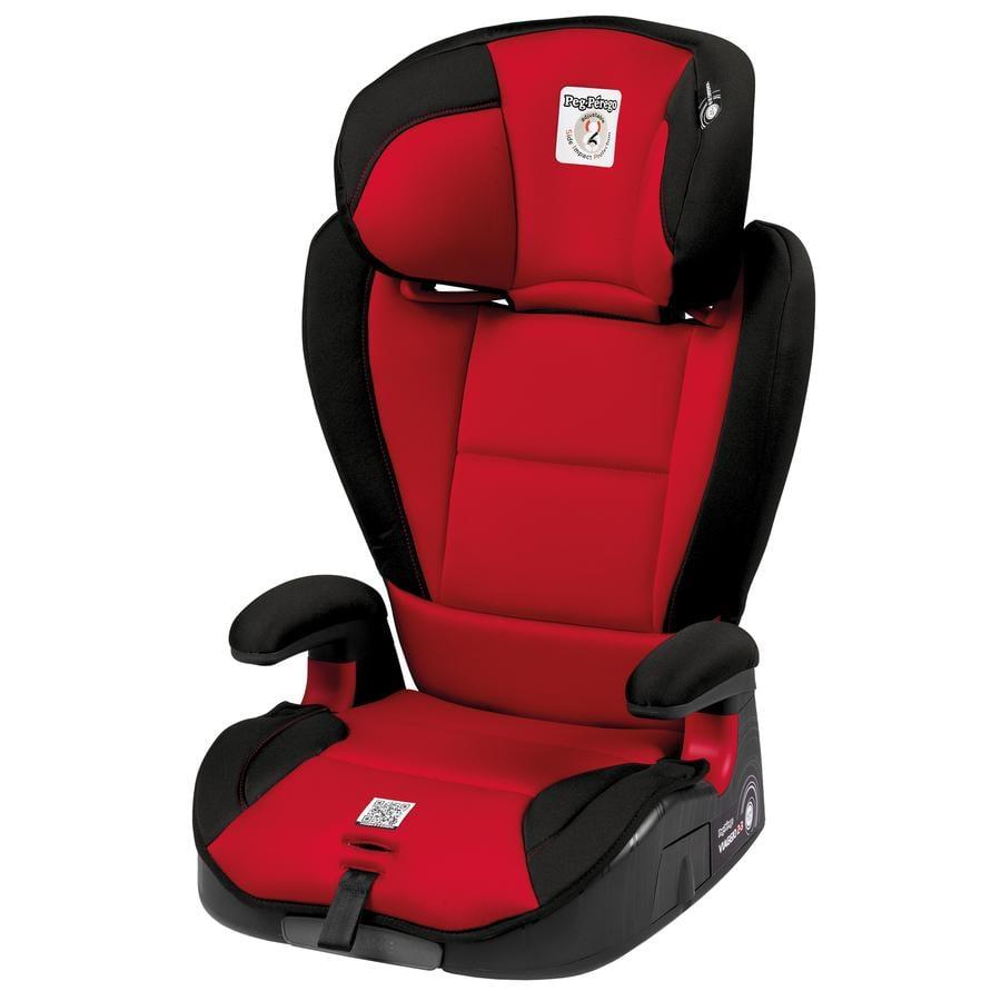 Peg-Perego Siège auto Viaggio 2/3 gr.2/3 Surefix rouge 2020