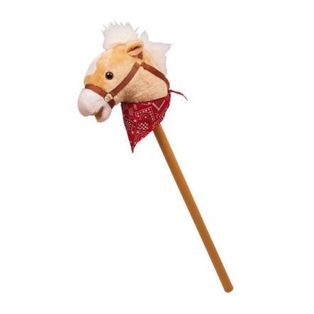 LEGLER Burattino Cavallo con asta di legno Rocky