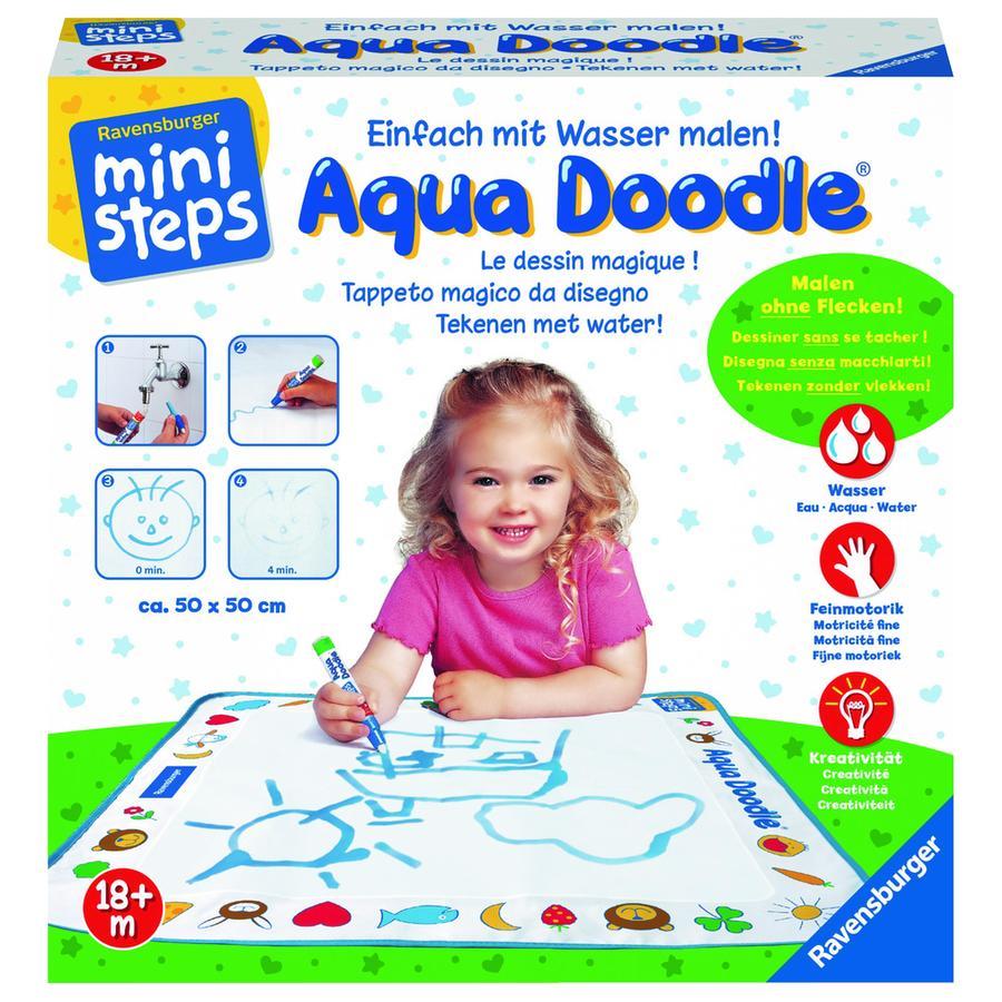 RAVENSBURGER Tapis de dessin enfant Ministeps Aqua Doodle