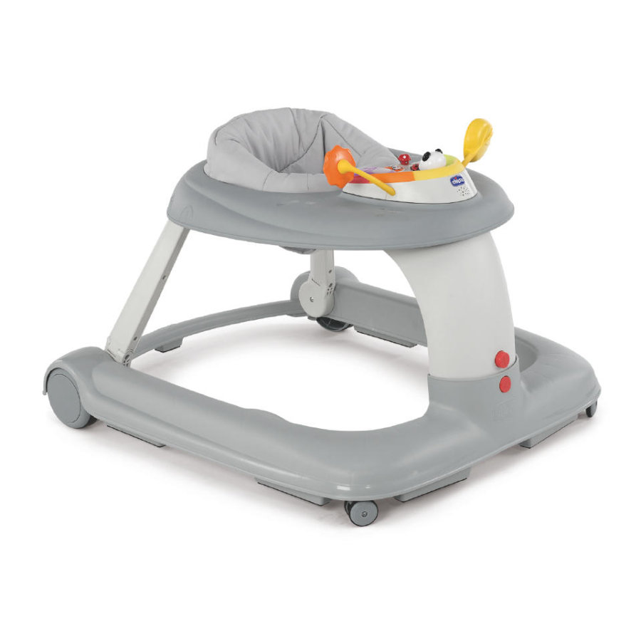 CHICCO Gåstol Activity-Center 123 SILVER
