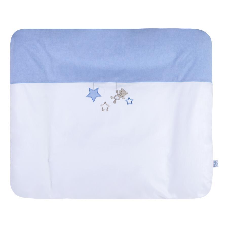 JULIUS ZÖLLNER Matelas à langer Softy étoiles bleu 75x85 cm