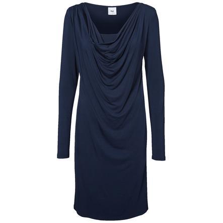 MAMA LICIOUS Těhotenské šaty LULU NELL JERSEY black iris