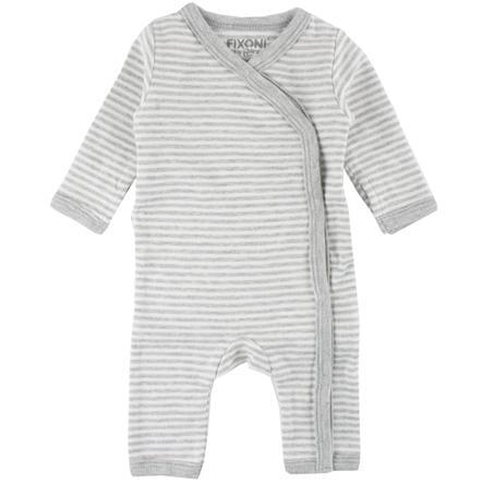 FIXONI Ensemble bébé prématuré gris clair